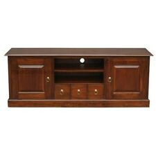 Entertainment Unit 2 Door 3 Drawer Brown W160, TV Stand, TV Cabinet, Storage.
