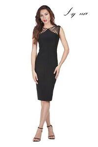 FRANK LYMAN Spaghetti Strap Bodycon Dress - 179015 size 10