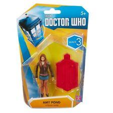 """AMY POND In Marrón Doctor Who Chaqueta - 3.75"""" figura Wave 3-Nuevo"""