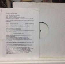 """[EDM]~NM 12""""~the ALLEN JEFFREY EXPERIENCE~Concrete Tones EP~[2000 TEST PRESS"""