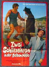 Zwei Schlitzohren in der gelben Hölle - Harris - A1 Filmposter Plakat (Y-8431+