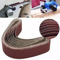 10 Stück Gewebe Schleifbänder 50x686mm Schleifband Für Bandschleifer Korn 60-240