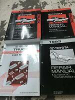 1993 Toyota Truck PICK UP Service Repair Shop Manual Set W Trans Bk + EWD RARE