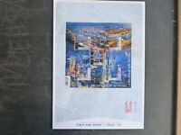 BELGIUM 2016 BELGIUM FROM THE SKY 5 STAMP FIRST DAY SHEET