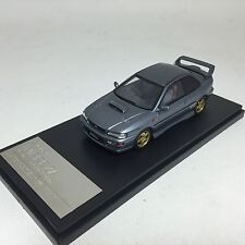 1/43 Hi-Story Subaru Impreza WRX type R STi Version V Ltd 1998 cool gray