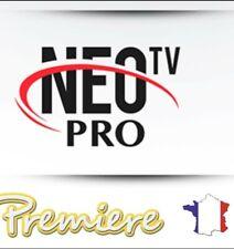 Neo pro 2 ABONNEMENT 12 MOIS android, Smart TV, m3u envoi en 5 minute .....