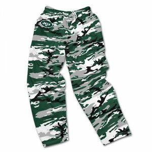 Zubaz NFL Football Men's New York Jets Casual Active Camo Pants