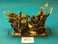 Warhammer Fantasy - Chaos - Chariot with Chosen Crew Pro Painted - Metal WF345