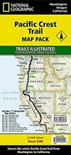 Pacific Crest Trail Complete Map Set PCT Topo National Geographic 11 Maps