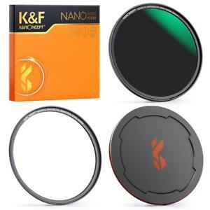 K&F Concept ND64 Magnetic Lens Filter+Cap NANO-X 49/52/55/58/62/67/72/77/82mm