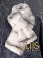 Luxury Nerz Pelzschal Mink fur scarf pelliccia visone sciarpa Piel écharpe vison