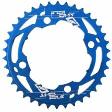 INSIGHT bmx 4 bolt CHAINRING  black/red/blue 104mm