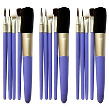 Innovate 5 Pezzi Trucco Eyeliner Fondotinta cosmetico Set pennelli