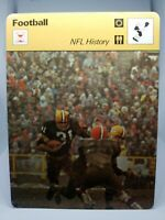 1978 SPORTSCASTER NFL CARD #29-16 NFL HISTORY THE PACKERS MINT CONDITION