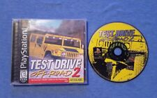 TEST DRIVE OFF ROAD 2 Playstation PS1 Complete Tested
