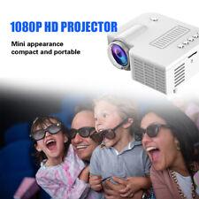 Mini HD 1080P Pocket LED Video Projector Portable Home Cinema USB AV Movie