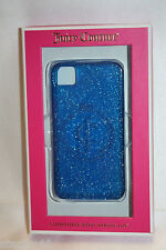 NEW! JUICY COUTURE Blue Lapis Gelli iPhone 4/4s Soft Case YTRUT228 Brand New!
