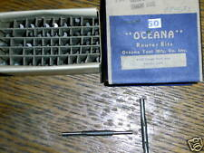 "VINTAGE OCEANA 3/16"" DOUBLE END ROUTER BIT - LOT OF 50"