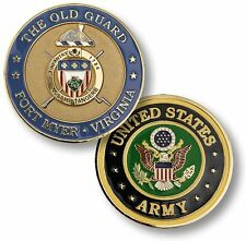 The Old Guard Challenge Coin Arlington Cemetery Tomb of the Unknown Soldier Army