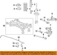 HONDA OEM Rear Suspension-Spring Insulator 52686SDAA01