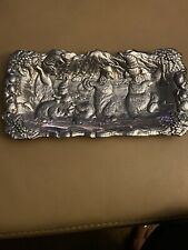 1992 - Arthur Court Musical Dancing Bears Aluminum Tray