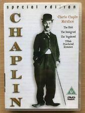 Charlie Chaplin Marathon DVD Special Edition Four Great Silent Cinema Classics