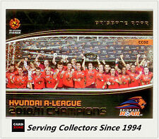 2013 A League Trading Cards Case Card CC2 10/11 A League Champions Brisbane Roar