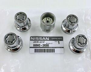 Wheel Lock-Wheel Locks NISSAN OEM 999W23X000