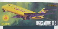 ATLANTIS MODEL 6004 - DC-9 - HUGHES AIRWEST - TWA JETLINER - 1:72 - Bausatz Kit