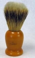 Vintage Ever-Ready Badger & Nylon Blended Shaving Brush Butterscotch Handle