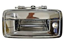 for Chevrolet Silverado GMC Sierra Tailgate Handle No Camera Hole Chrome