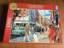 Carnaby Street 1000 Piece Jigsaw by Schmid Deluxe Quality