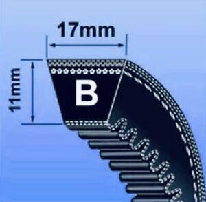BX SEC V BELT ( BX SECTION BRANDED 17 x 11MM V BELT ) - CHOOSE SIZE IN INCHES)
