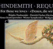 "SAWALLISCH ""HINDEMITH: REQUIEM/ FOR THOSE WE LOVE"" LP 1987 orfeo"