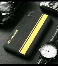 iPhone Mercedes AMG Yellow Alcantara Suede ALL MODELS  Phone Case Cover UK