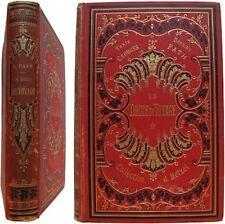 Un drôle de voyage texte dessins Georges Fath 1878 Hetzel reliure Engel