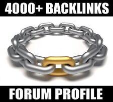 4000+ Backlinks Forum profile VERIFIED Best SEO SERVICE - CHEAPEST !! ON SALE