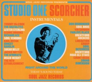 VARIOUS ARTISTS Studio One Scorcher CD Europe Soul Jazz 2002 19 Track, With Slip