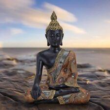 Thai Buddha Tempelwächter sitzend aus Poly Höhe 45cm Feng Shui Statue