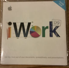 Apple Mac iWork '09 Software Install DVD Family Pack Edition 2009