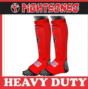 FS Shin Instep Protectors,Leg Pads,Guards Pads Boxing, MMA, Muay Thai,Taekwondo