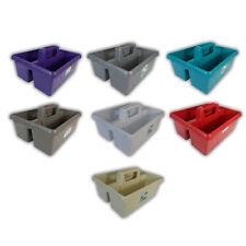 Wham Colorido Plástico Utilidad de herramientas de limpieza cocina Caddy ordenado almacenamiento práctico