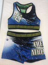 REBEL Cheer Athletics AM Cheerleading Uniform Practice Adult Medium Reversible