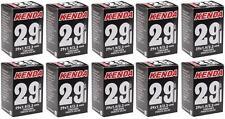 """10x Kenda 29"""" MTB Tube 29x1.9/2.3 48mm F/V Valve 29er 247grams Tubes TUBE966L"""