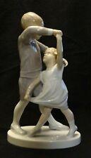 B&G Denmark Dancing School #1845 Figurine, 8 Inch Tall, Boy & Girl Dancing