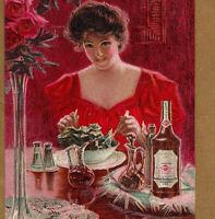 Duffys Apple Juice Vinegar Rocherster NY Salad Recipe Advertising Booklet bottle