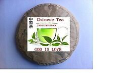Organic top grade unfermented Pu erh tea cake 1071 grams bag packing