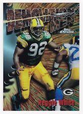 REGGIE WHITE 1997 Topps Chrome Career Best # 4 Refractor Packers HOF NM - MT