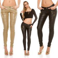 KouCla Women's Zip Slim Skinny Pant - S/M/L/XL