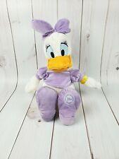 "Disney Store Daisy Duck Plush Genuine Stuffed Animal Toy 20"""